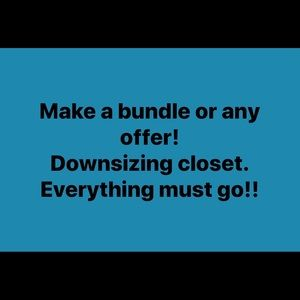 Make a bundle or any offer!